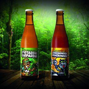 Petarda Geparda, Dachowiec Rockowiec - piwa browar Dziki Kocur