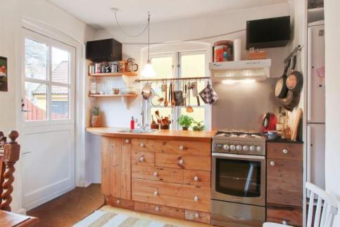 How to Work Untapped Space in a Small Kitchen