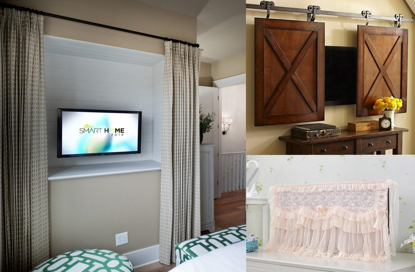 hiding tv in living room how to decorate a small with fireplace the middle 8 smart ways hide your wma property