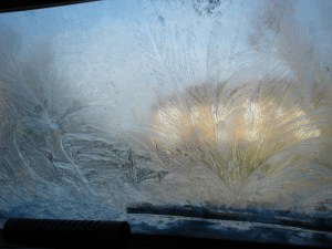 Campaigns - Frost on Windscreen