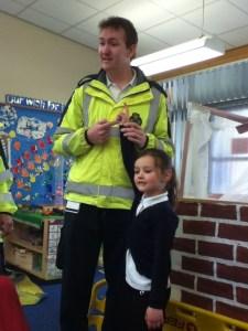 Visit to Wrekin View Primary 06-06-13