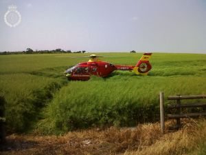 Serious RTC in Shropshire 2