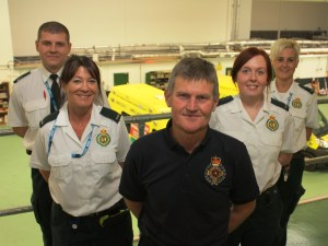 Ambulance Crews Move into 21st Century Hub 1
