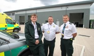 Ambulance Crews Move into 21st Century Hub 2