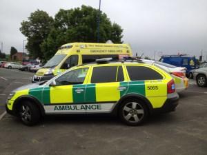 Ambulance and response vehicle