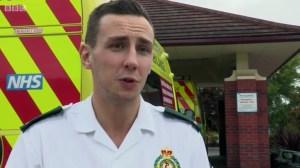 Rookie paramedic Sam