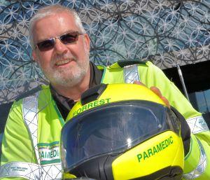 Biker paramedic Steve calls it a day (2)