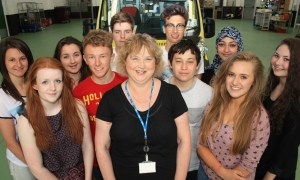 STUDENTS GO BEHIND THE NINES FOR WORK EXPERIENCE WEEK 1