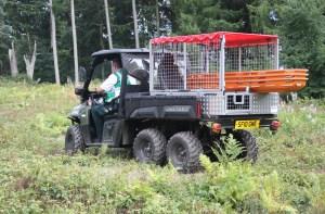 Polaris 6x6 vehicle
