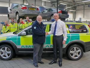 LIFE SAVING CARE TEAM GET IN GEAR WITH NEW SET OF WHEELS 2