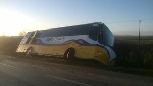 Bus crash - The Ridgeway, Stratford
