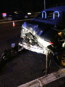 lucky escape on M42 200115 2