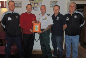 FC Oswestry Town Train to save lives 03-11-15