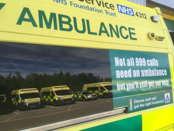 ambulance-reflection
