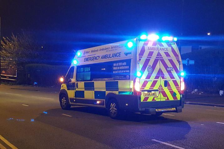 Ambulance at night 1