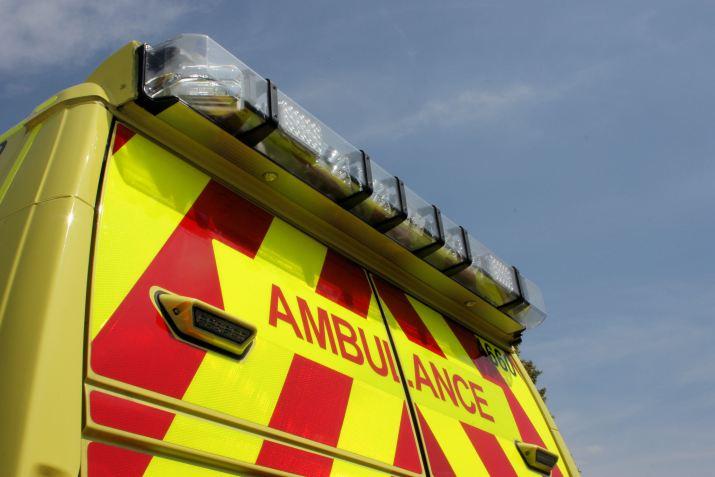 Rear of ambulance 2018