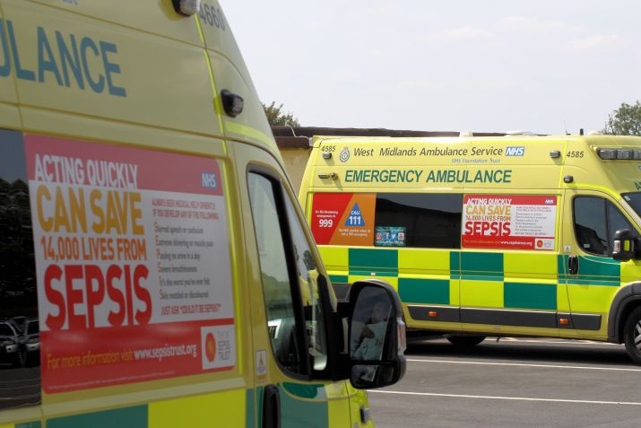 two ambulance sepsis poster 2018