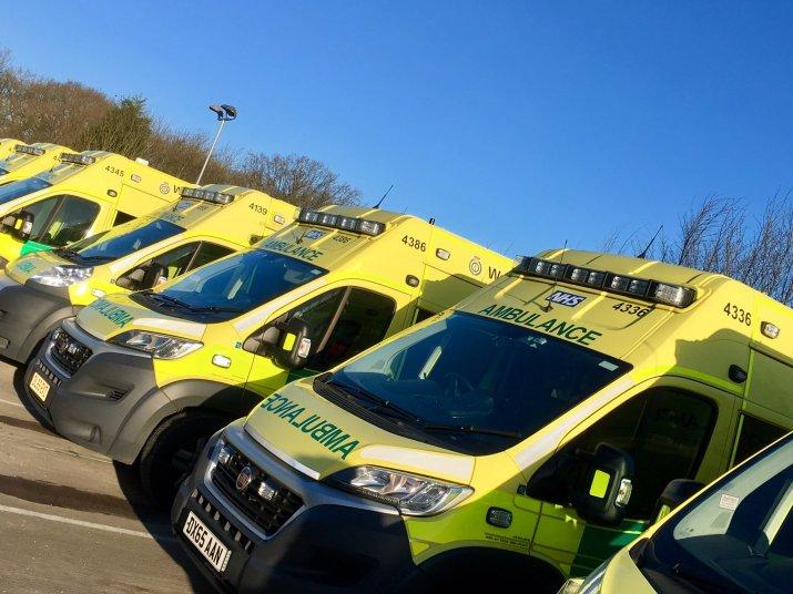 Ambulances in the sun 2