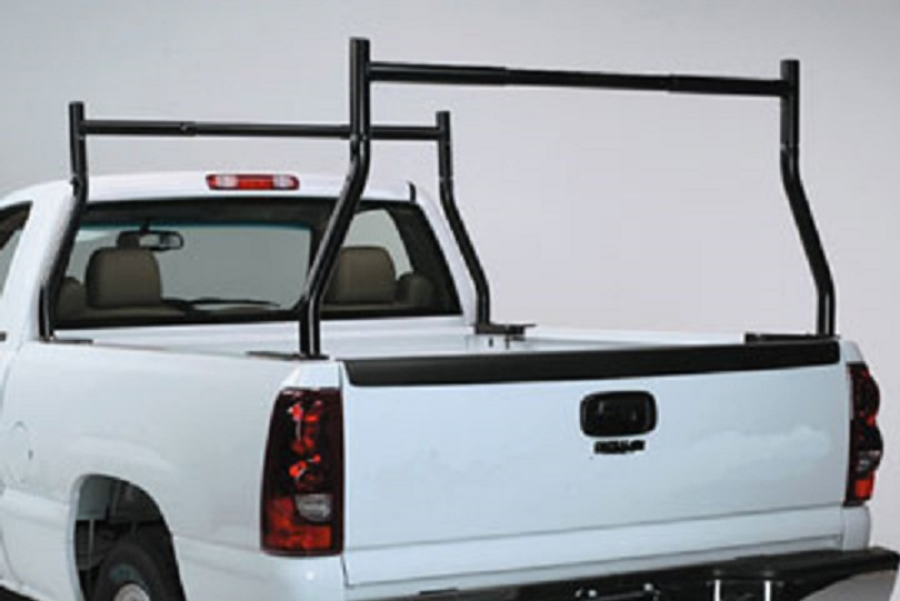 no drilling 500 lb clamp universal truck ladder rack for pickup