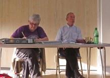 Chairman's Report Peter Seal with Joy Stevens (Secretary)