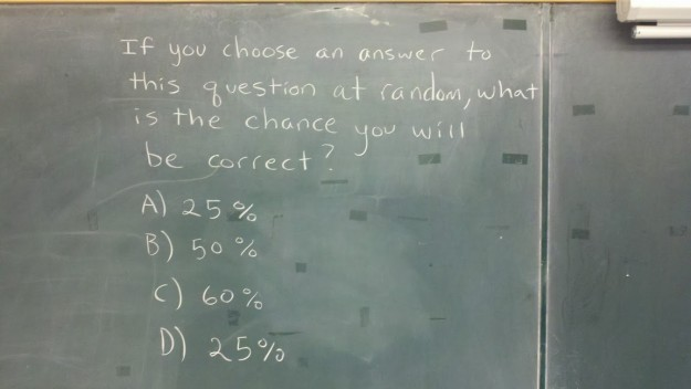 Best statistics question ever