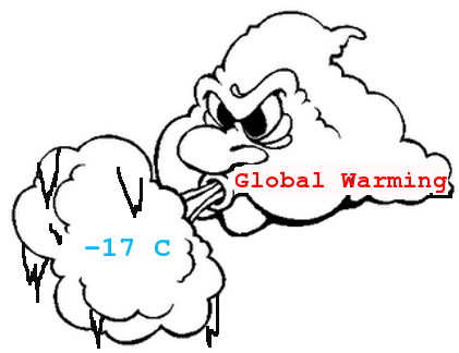Global warming cools things off