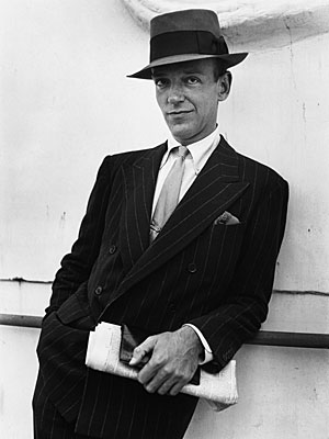 Fred Astaire Pocket Square