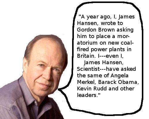 James Hansen, Scientist, speaks
