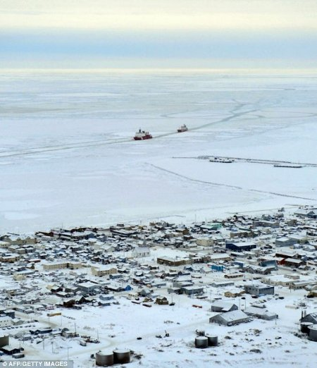 Nome in deadly deep freeze