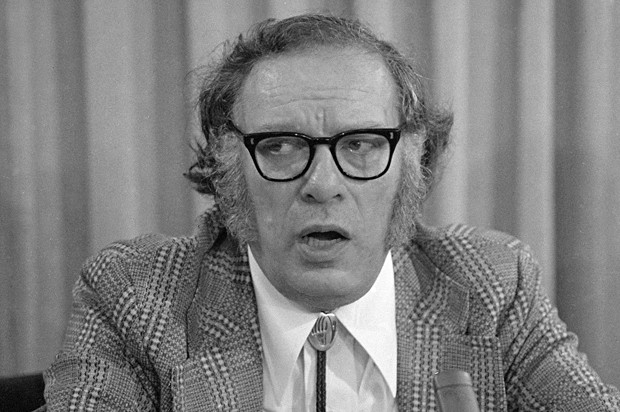 Russian-born American author Isaac Asimov is seen in 1974.  (AP Photo)