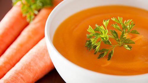 як приготувати морквяно-імбирний суп з куркою
