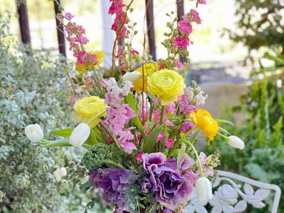 Easter Floral Centerpieces
