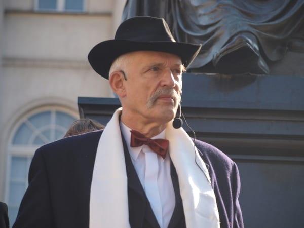 Korwin-Mikke: Za pana Lecha Wałęsę wszystko załatwiały służby specjalne