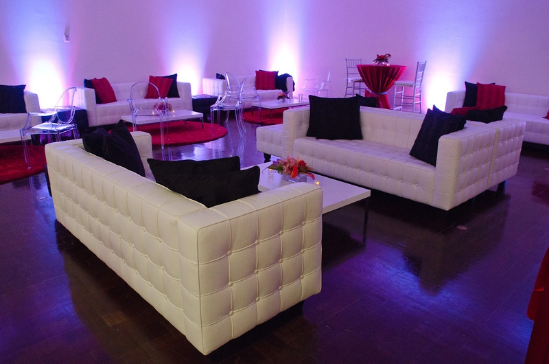 White Club Chair