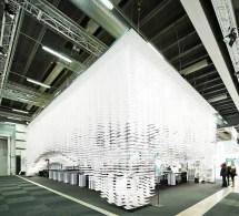 Stockholm Paper Installation - Wm Eventswm Events