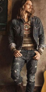 special post boho style men