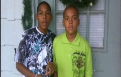 Brothers Matthew and Mark Robinson.