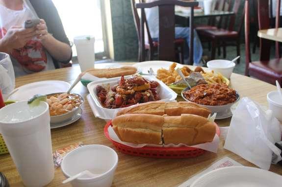 Louisiana inspired cajun food from King Cajun on Mills.