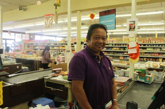 David Phan, owner of Tien Hung Market, one of the first Vietnamese markets in Mills 50.