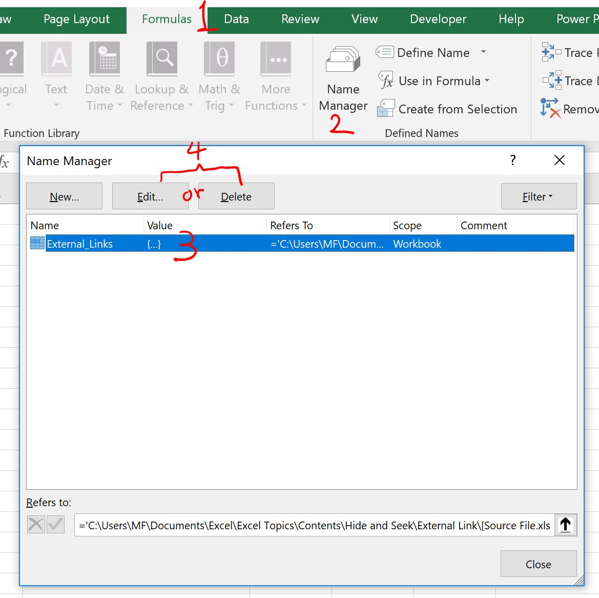 Link To Excel Worksheet In Excel