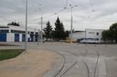 Teren zajezdni tramwajowej przy ulicy Towarowej (19 czerwca 2015)
