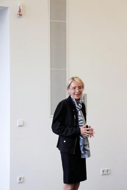Pressesprecherin Monika Landgraf (PKM) eröffnete die Veranstaltung (Foto: Tanja Schmith)