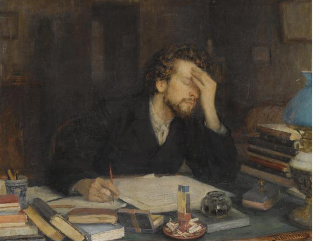 The Pains of Composition by Leonid Osipovish Pasternak