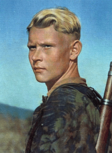German soldier from WW2, the Aryan mutant.