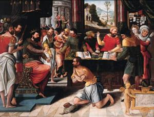 Pieter Coecke Van Aelst: The Parable of the Unmerciful Servant