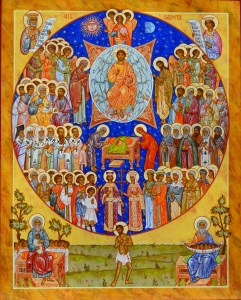 Icon of the Synaxis of All Saints