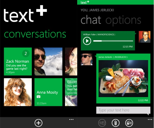 text plus windows app