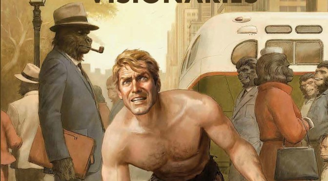 Read 17 pages of BOOM's 'Planet of the Apes: Visionaries' OGN