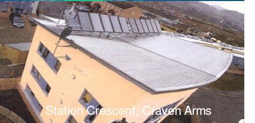 Low ccarbon housing, Station Crescent, Craven Arms