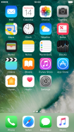List of screen icons - Apple iPhone 6 - Optus